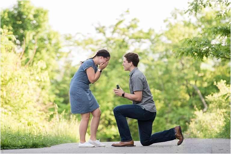 Surprise proposal in Pittsburgh.