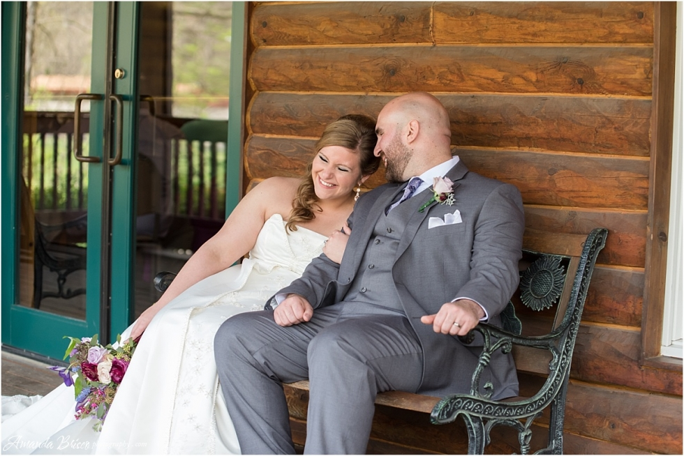 bride and groom at the Mayernik Center Avonworth Park