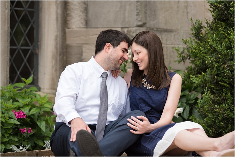 Engagement Session at Hartwood Acres mansion.
