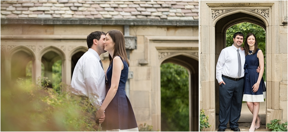 Engagement session at Hartwood acres infront of mansion.