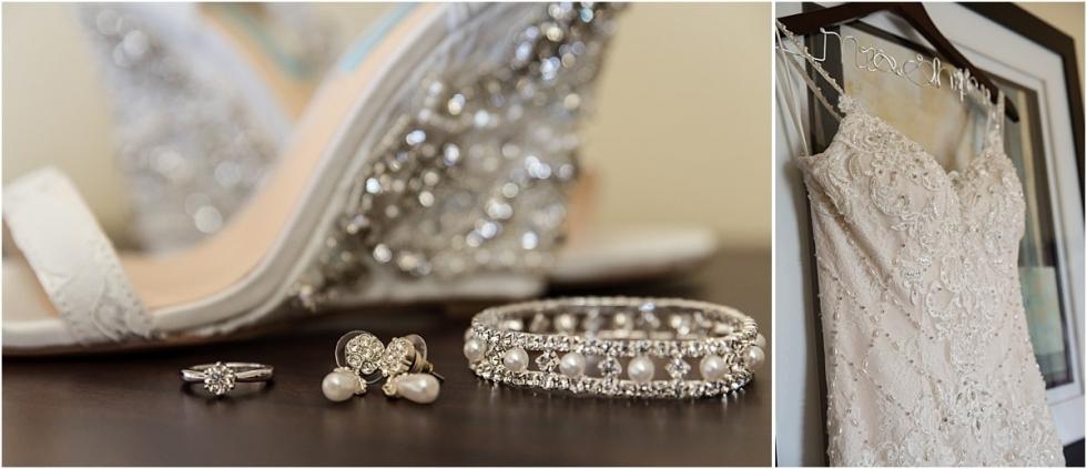 Bridal Details for Old Economy Village wedding.