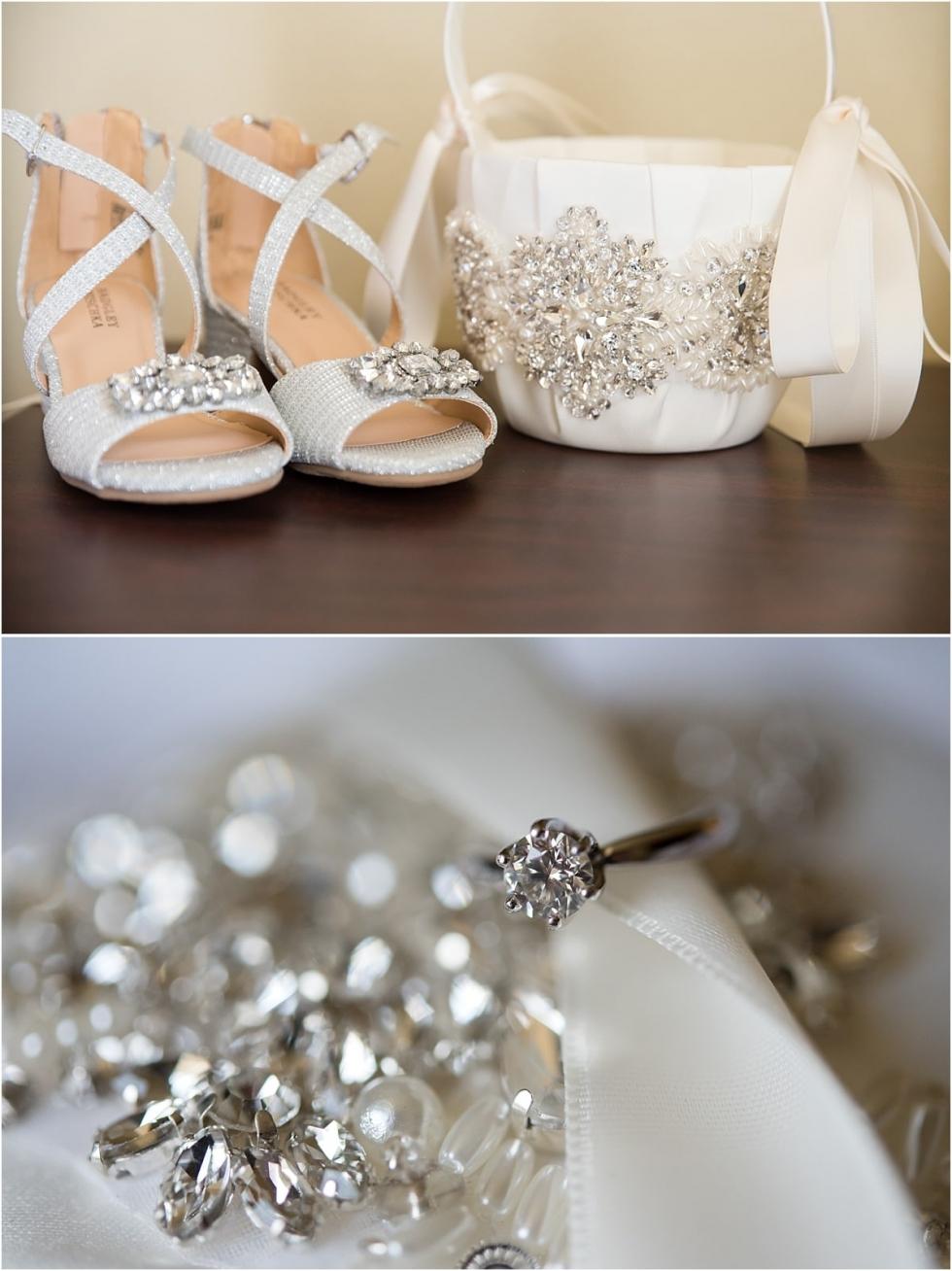 Bridal detail shots for old economy village wedding in Ambridge.