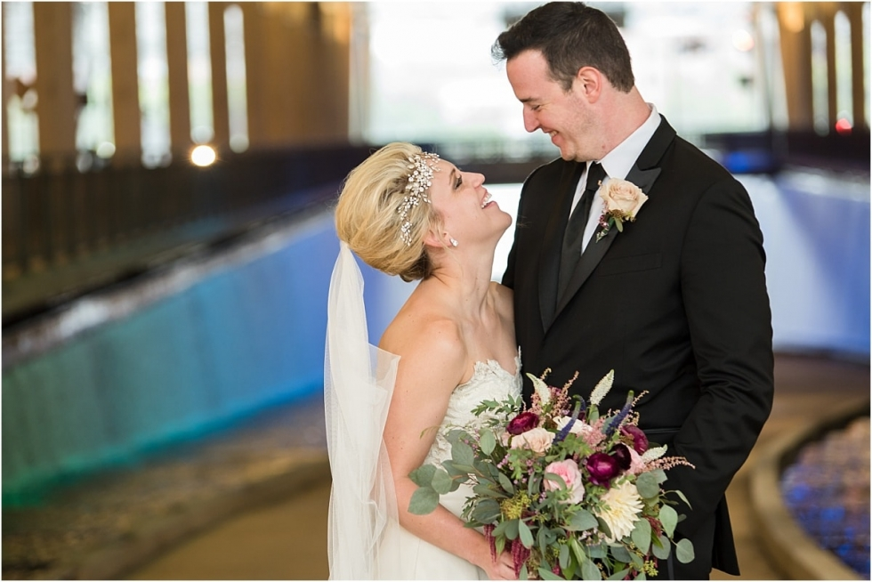 Wedding pictures at the Convention center Pittsburgh.