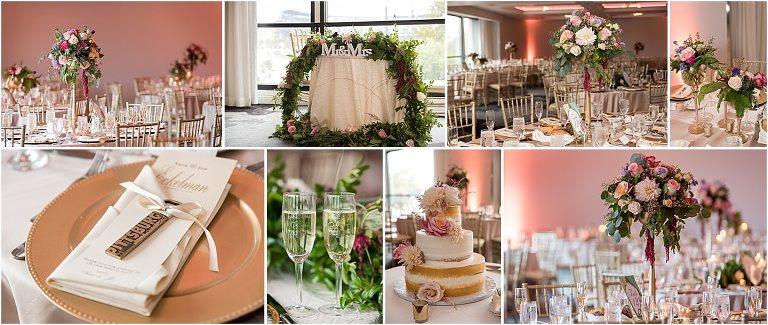 Renaissance Pittsburgh Hotel wedding reception pictures.
