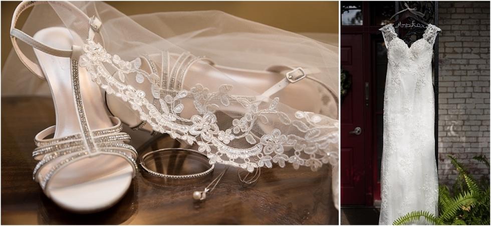 wedding portraits at Succop Conservancy wedding.