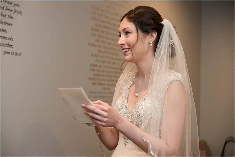 Wedding ceremony for Greystone Fields Wedding.