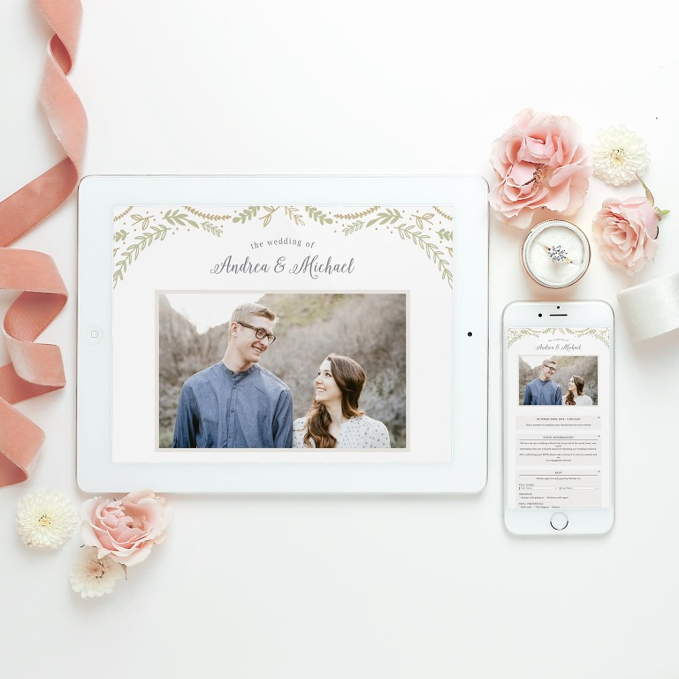 Using Your Engagement Photos | Meet Basic Invite