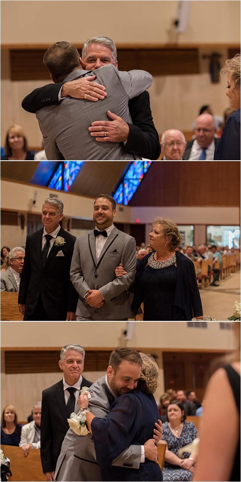 Catholic wedding ceremony Pittsburgh wedding.