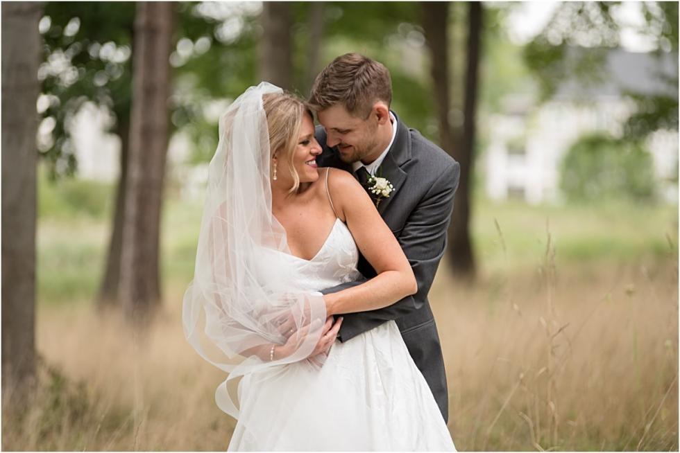 Cranberry Woods wedding portraits.