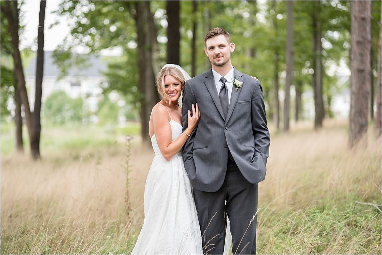 Cranberry Woods wedding portraits.