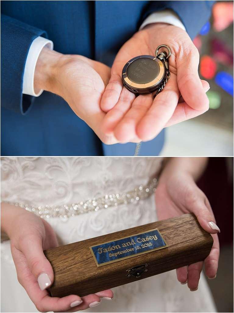 Details for Buhl Park Wedding.