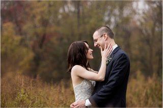 Wedding portraits at the Pittsburgh Botanic Garden wedding.