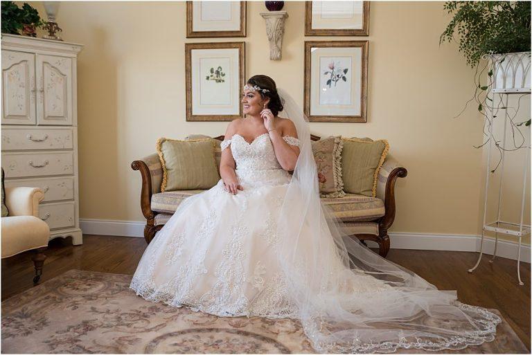 Sewickley Heights Golf Club Wedding bridal portraits.
